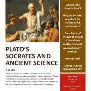 Summer Course - Plato's Socrates and Ancient Science