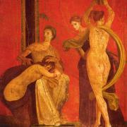 Roman Fresco of women dancing