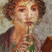 Affresco painting of Greek woman called Cosiddetta Sappho