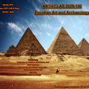 picture of pyramids in Egyptian desert