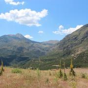 Landscape of the Western Argolid region of Southern Greece