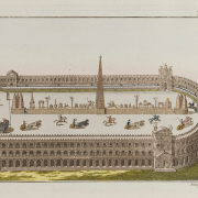 a roman circus with a chariot race, See page for author, CC BY 4.0 <https://creativecommons.org/licenses/by/4.0>, via Wikimedia Commons