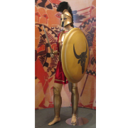 ancient athenian warrior, Tilemahos Efthimiadis, CC BY-SA 2.0 <https://creativecommons.org/licenses/by-sa/2.0>, via Wikimedia Commons