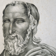 lithograph of caius plinius secundus, See page for author, CC BY 2.0 <https://creativecommons.org/licenses/by/2.0>, via Wikimedia Commons