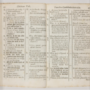 pages from a children's latin dictionary, Beinecke Library, CC BY-SA 2.0 <https://creativecommons.org/licenses/by-sa/2.0>, via Wikimedia Commons