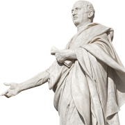 statue of cicero, Augurmm, CC BY-SA 4.0 <https://creativecommons.org/licenses/by-sa/4.0>, via Wikimedia Commons