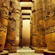 karnak temple of luxor, egypt, Ahmedherz, CC BY-SA 3.0 <https://creativecommons.org/licenses/by-sa/3.0>, via Wikimedia Commons