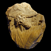 fragment of a relief of battle, M0tty, CC BY-SA 3.0 <https://creativecommons.org/licenses/by-sa/3.0>, via Wikimedia Commons