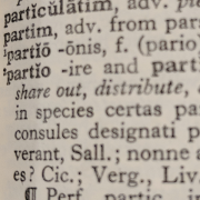 portion of a latin dictionary, ixlheo, CC BY-SA 4.0 <https://creativecommons.org/licenses/by-sa/4.0>, via Wikimedia Commons