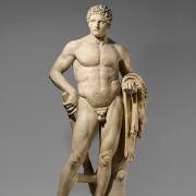 marble statue of a youthful hercules, Metropolitan Museum of Art, CC0, via Wikimedia Commons
