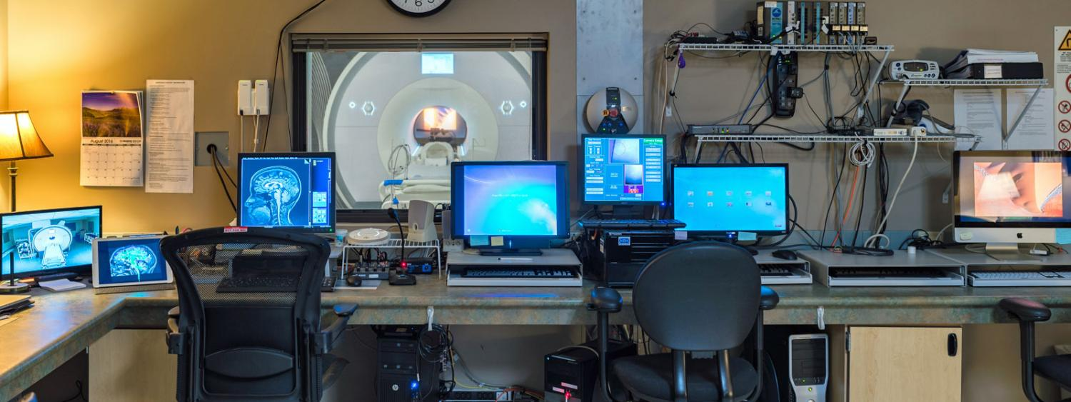 fMRI facility; photo by Teryn Wilkes