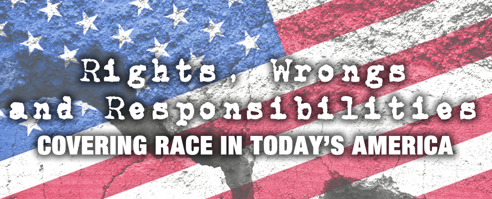 Covering Race in Today's America logo