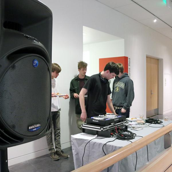 Radio 1190 DJed the event