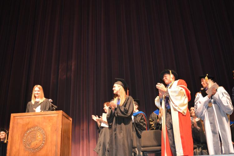 Kelly speaking