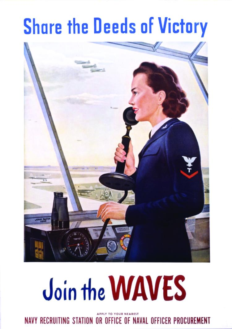 The WAVES of World War II, Associate Professor Kathleen Ryan examines the women who were part of the Navy's WAVES program, short for Women Accepted for Volunteer Emergency Service. Ryan is also the recipient of this year's Payden Award for excellence in teaching and research or creative work. The award is named after William R. Payden (Jour'57), who established the Payden endowment in 2010.