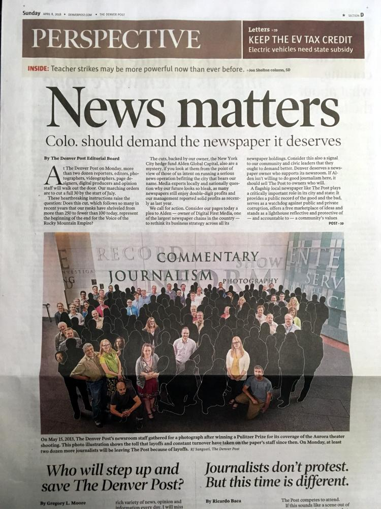 Photo of the Denver Post