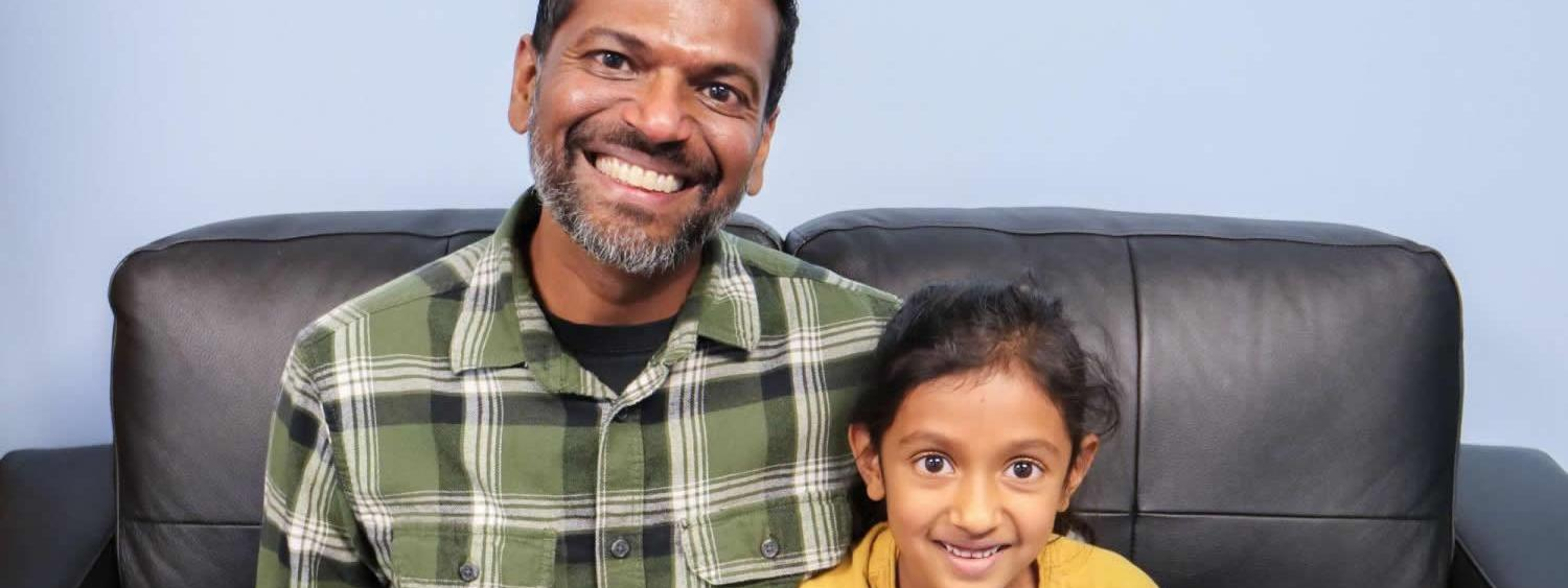 Harsha and daughter