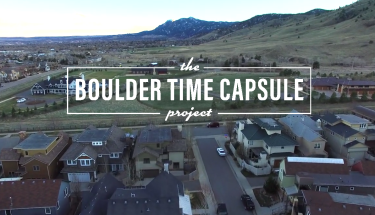 Boulder Time Capsule Project