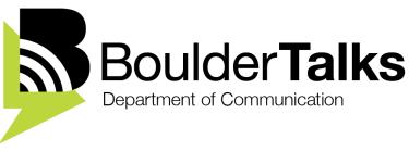 BoulderTalks logo