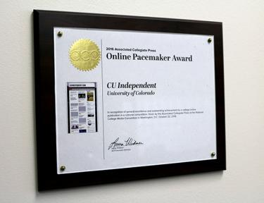 The Pacemaker Award