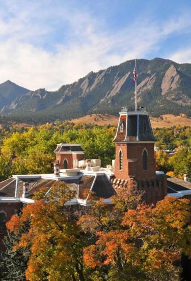 CU Campus in the Fall