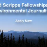 accepting applicants: Ted Scripps Fellowships in Environmental Journalism