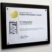 The Online Pacemaker Award