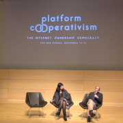 A presentation from the Platform Cooperativism conference.