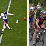 Broncos and bicycling photos