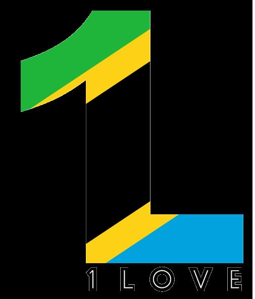 1 Love logo