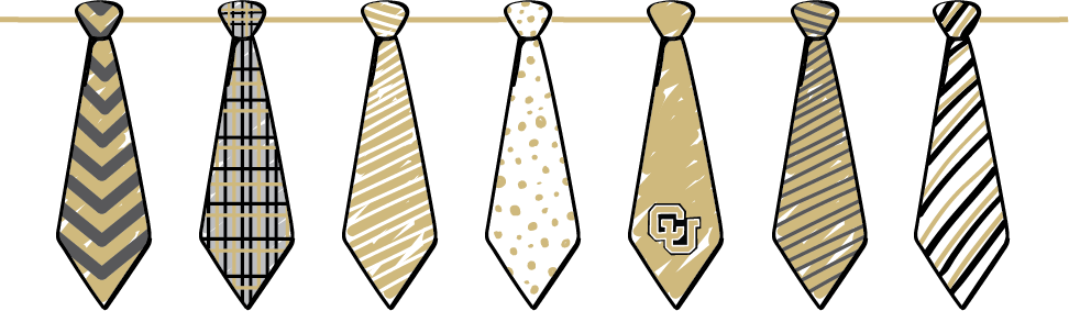 illustration of ties