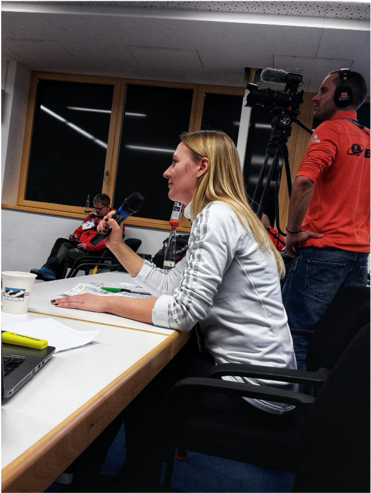 Journalism Instructor Marina Dmukhovskaya has covered two previous Winter Games: Sochi in 2014 and Pyeongchang in 2018.
