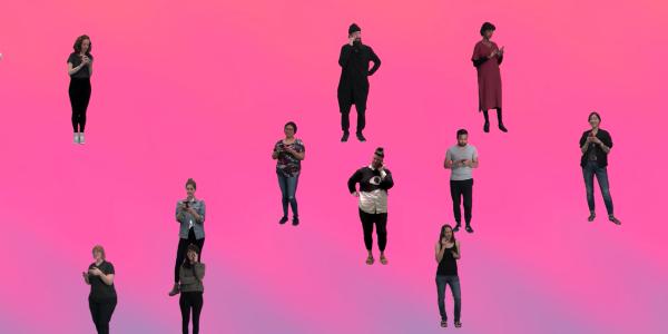 (Modern) Formations III video still by Laura Hyunjhee Kim