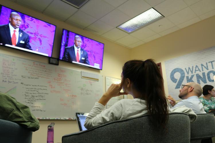 CU News Corps fact-checks for 9 News Denver's local election coverage.