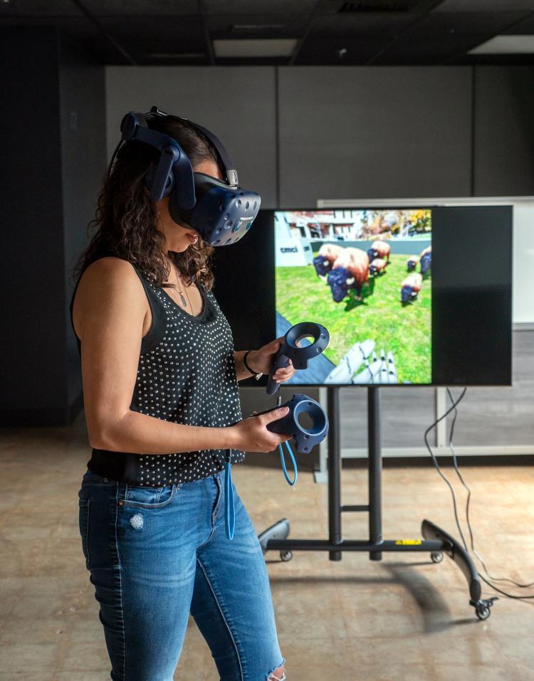 CMCI virtual reality lab