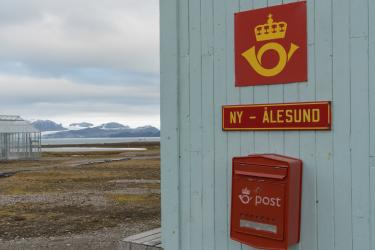 The world's northernmost post office, just 769 miles from the North Pole — about the distance from Atlanta to New York City.