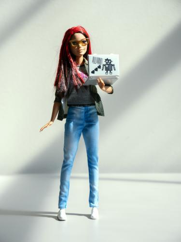 A Robotics Engineer Barbie.