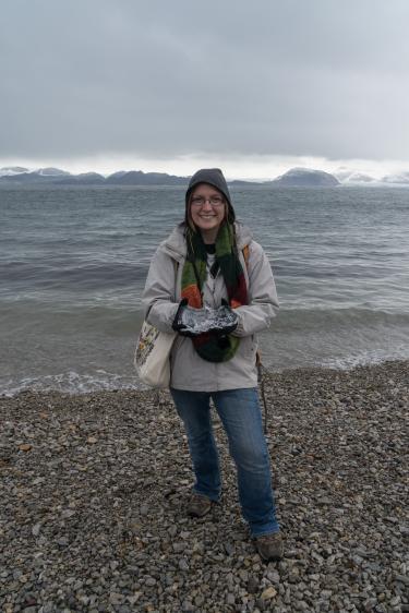 Arctic Lenses team member Cay Leytham Powell