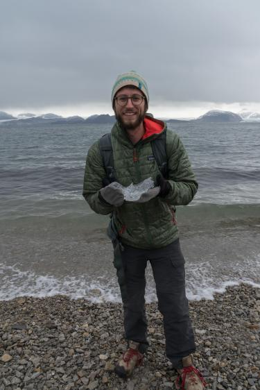 Arctic Lenses team member Alex Pilnick
