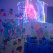 For her honor's thesis, media production major Taylor Passios turned her apartment into an immersive experience that people could visit.