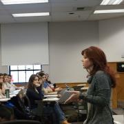 Karen Ashcraft teaching.