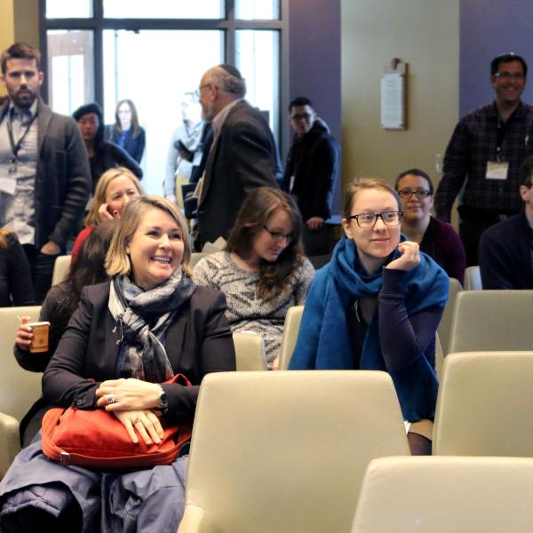 Attendees at the conference
