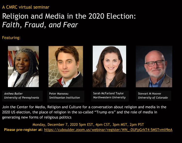 Religion and Media in the 2020 Election