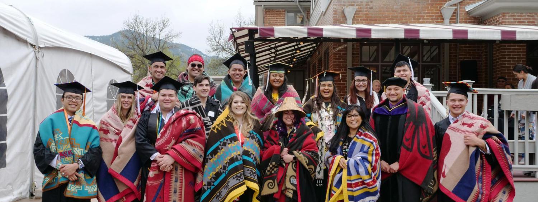 2019 Native Graduation CU Boulder