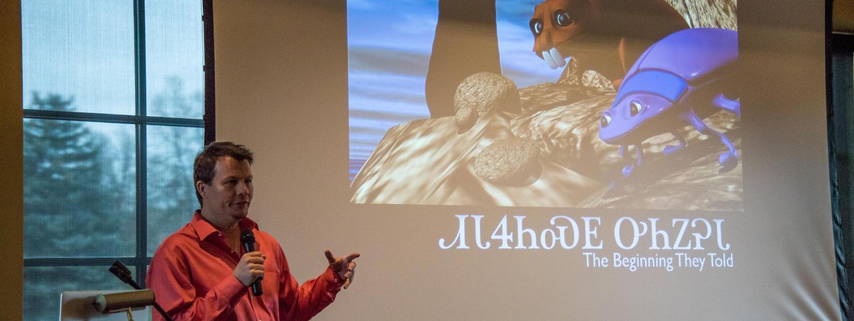 Joseph Erb at CNAIS Speaker Series