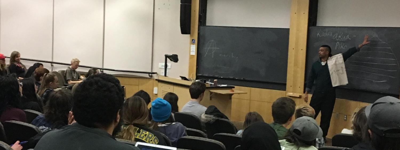 Lanakila Mangauil at  CU Boulder