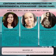 Indigenous Peoples Day Boulder 2021