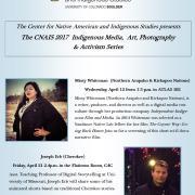 Indigenous Media, Art, Photography, & Activism