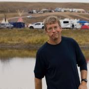 Michael McNally at Standing Rock