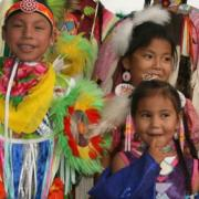 young arapaho dancers